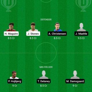 ENG vs DEN Dream11 Team fantasy Prediction Euro