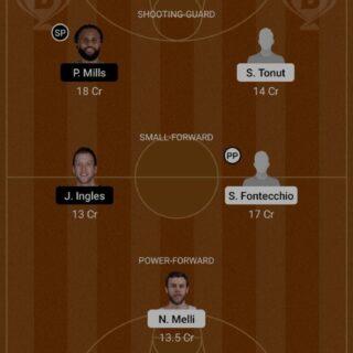 ITA vs AUS Dream11 Team fantasy Prediction Olympics - Men