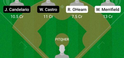 KCR vs DET Dream11 Team fantasy Prediction MLB