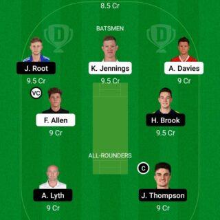 LAN vs YOR 118th ODI Match Dream11 Team fantasy Prediction English T20 Blast