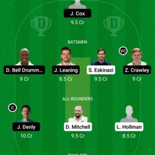 MID vs KET 111th Match Dream11 Team fantasy Prediction English T20 Blast
