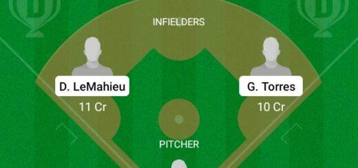 NEY vs BRS Dream11 Team fantasy Prediction MLB
