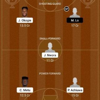 NGR vs GER Dream11 Team fantasy Prediction Olympics - Men