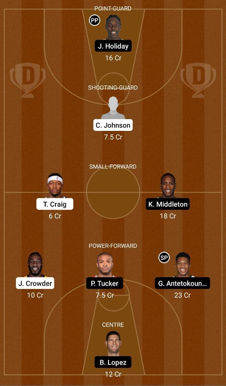 PHX vs MIL Dream11 Team fantasy Prediction NBA (3)