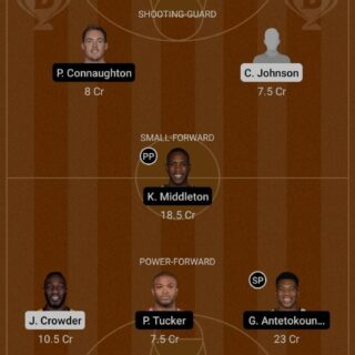 PHX vs MIL Dream11 Team fantasy Prediction NBA (4)