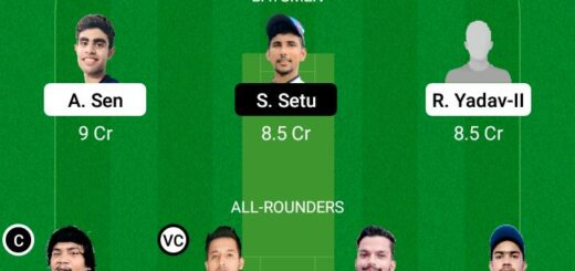 RAN vs DHA 11th Match Dream11 Team fantasy Prediction BYJU's Jharkhand T20
