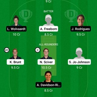 TRT-W vs NOS-W 7th Match Dream11 Team fantasy Prediction The Hundred Women
