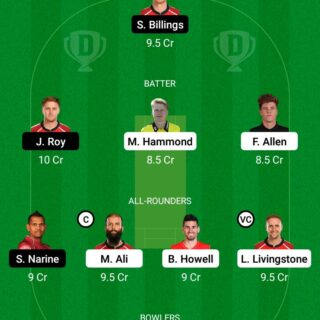 BPH vs OVI 18th Match Dream11 Team fantasy Prediction The Hundred Men
