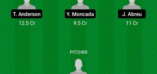 CHC vs CWC Dream11 Team fantasy Prediction MLB