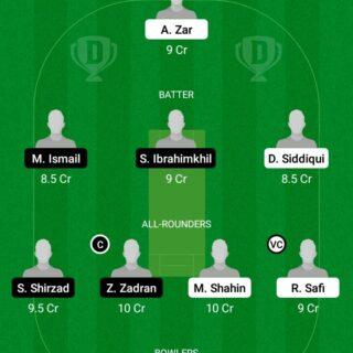 GOC vs JKP Quater Final Match Dream11 Team fantasy Prediction FanCode ECS T20 - Malmo