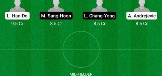 GWN vs SEGN Dream11 Team fantasy Prediction Korean League