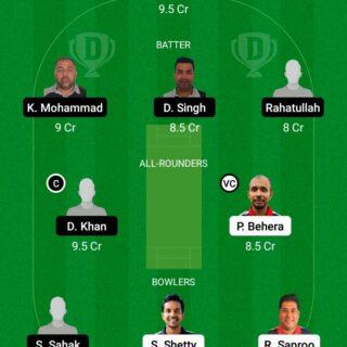 HRO vs AF 9th Match Dream11 Team fantasy Prediction FanCode ECS T10 - Malmo