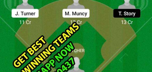 LAD vs COR Dream11 Team fantasy Prediction MLB