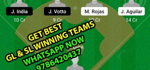 MM vs CR Dream11 Team fantasy Prediction MLB