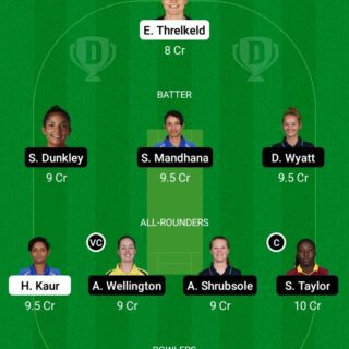 MNR-W vs SOB-W 19th Match Dream11 Team fantasy Prediction The Hundred Women