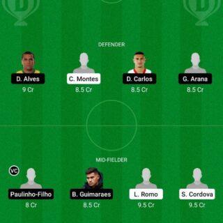 MX-U23 vs BR-U23 Dream11 Team fantasy Prediction Olympics - Men