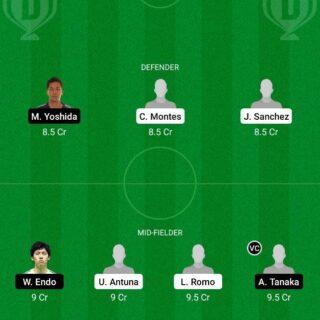 MX-U23 vs JP-U23 Dream11 Team fantasy Prediction Olympics - Men
