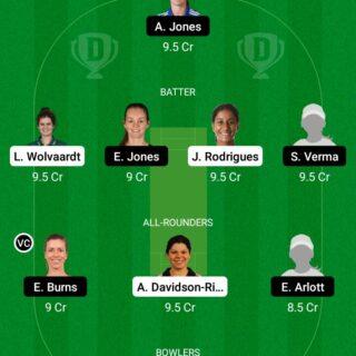 NOS-W vs BPH-W 75th Match Dream11 Team fantasy Prediction The Hundred Women