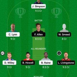 NOS vs BPH 75th Match Dream11 Team fantasy Prediction The Hundred Men
