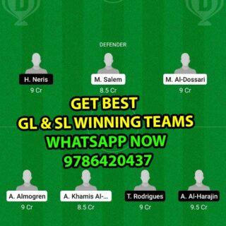 RAE vs HAZ Dream11 Team fantasy Prediction Saudi Arabian League