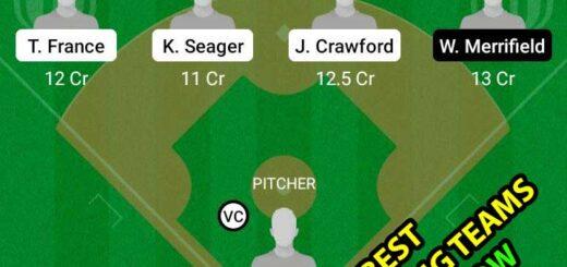 SEM vs KCR Dream11 Team fantasy Prediction MLB
