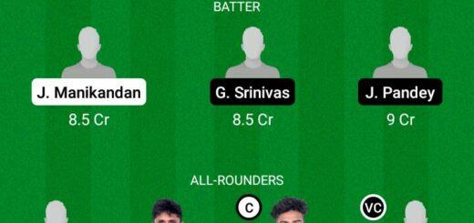 SHA vs TUS 29th Match Dream11 Team fantasy Prediction BYJU's Pondicherry T20