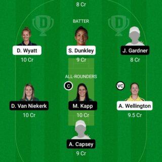 SOB-W vs OVI-W 34th Match Dream11 Team fantasy Prediction The Hundred Women