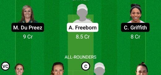 TRT-W vs MNR-W 29th Match Dream11 Team fantasy Prediction The Hundred Women