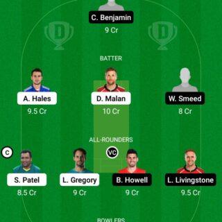 TRT vs BPH 27th Match Dream11 Team fantasy Prediction The Hundred Men