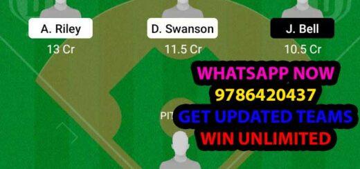 AB vs WAN Dream11 Team fantasy Prediction MLB
