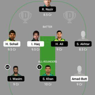 BAL vs NOR 1st Match Dream11 Team fantasy Prediction National T20 Cup