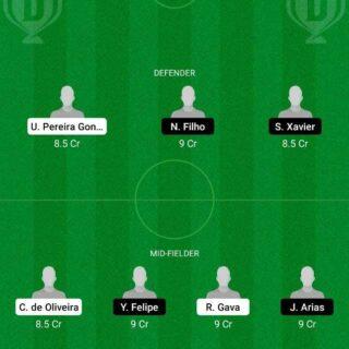 CUI vs FLMI Dream11 Team fantasy Prediction Brazilian Serie A