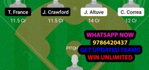 HAS vs SEM Dream11 Team fantasy Prediction MLB