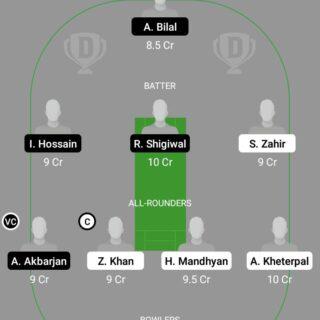 HUN vs AUT 17th Match Dream11 Team fantasy Prediction Dream11 ECC T10