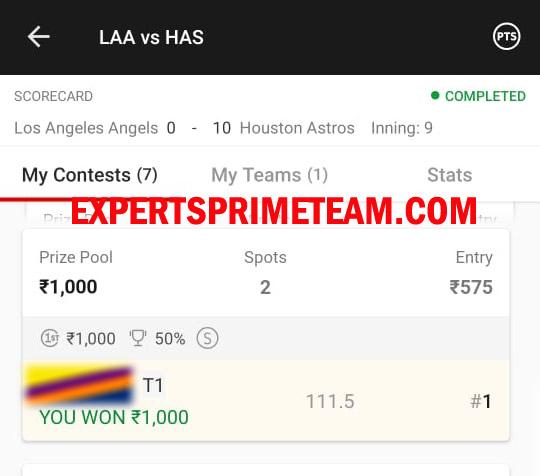 LAA-VS-HAS-Dream11-Results-