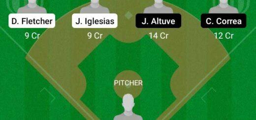 LAA vs HAS Dream11 Team fantasy Prediction MLB