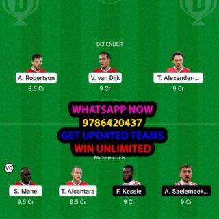 LIV vs MIL Dream11 Team fantasy Prediction Champions League