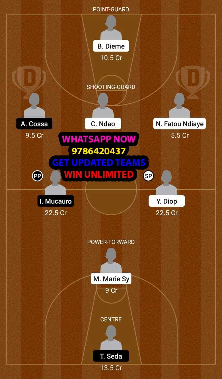 SEN-W-vs-MOZ-W-Dream11-Team-fantasy-Prediction-Afrobasket-Women