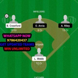 SFG vs AB Dream11 Team fantasy Prediction MLB (2)