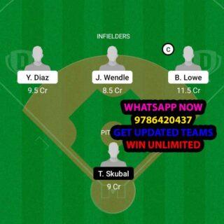 TAB vs DET Dream11 Team fantasy Prediction MLB