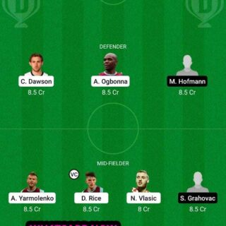 WHU vs RPD Dream11 Team fantasy Prediction Europa League