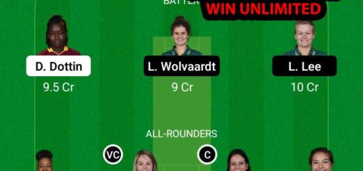 WI-W vs SA-W 2nd ODI Match Dream11 Team fantasy Prediction South Africa Women tour of West Indies