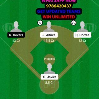 HAS vs BRS Dream11 Team fantasy Prediction MLB