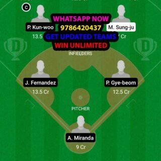 LGT vs DOB Dream11 Team fantasy Prediction KBO