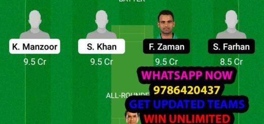 SIN vs KHP 25th Match Dream11 Team fantasy Prediction National T20 Cup
