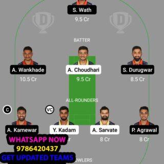 YLW vs ORG 21st Match Dream11 Team fantasy Prediction BYJUS VCA T20